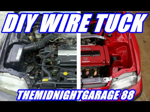 how to wire tuck a honda civic | Themidnightgarage #88