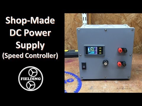 057  Building A Variable DC Power Supply From Treadmill Parts