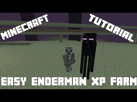 Simple and Easy Enderman Farm [Xbox, PS3, PS4]