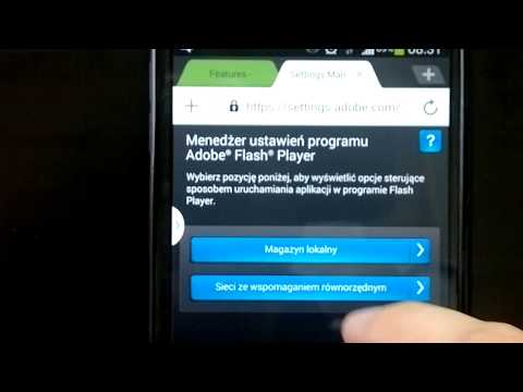 Instalacja Flash Player w ANDROID