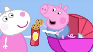 Peppa Pig en Español ¡Peppa Hace un Pastel! - Dibujos Animados