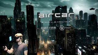 Hold On To Your Stomach!   AIRCAR VR (Oculus Rift)