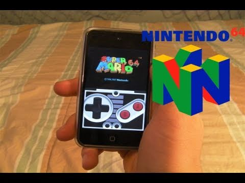 How To Install Nintendo 64 Emulator On iPhone, iPod Touch, & iPad With Roms n64iphone