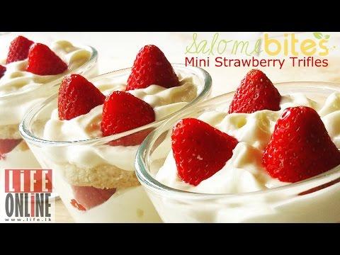 How to Make - Mini Strawberry Trifles