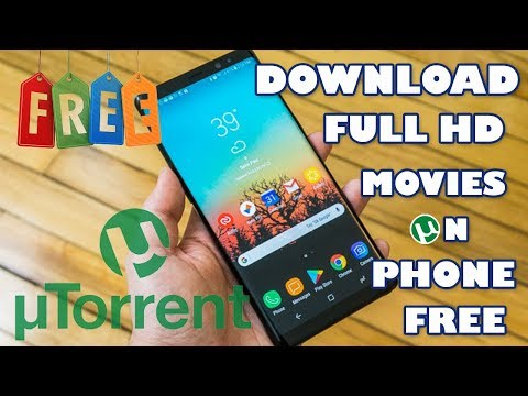 HOW TO DOWNLOAD HD MOVIES/TORRENTS BY uTORRENT ON ANY ANDROID DEVICE (2018 EDITION)  ???