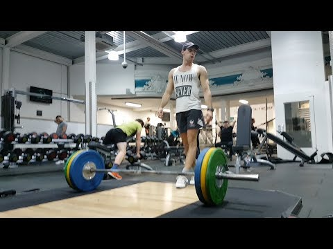 WEIGHTLIFTING WITH A RUGBY PLAYER