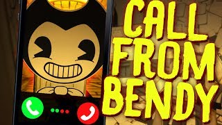 A SCARY CALL FROM BENDY AND THE INK MACHINE! | Horrible Rip Off Games