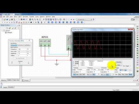 NI Multisim: Function generator