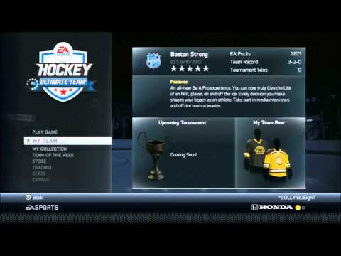 NHL 14: My PS3 HUT (All players available for trade.)