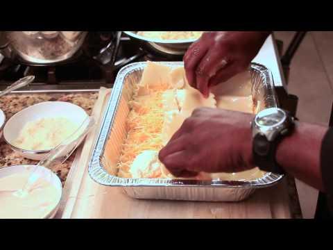 Five-Cheese Lasagna Alfredo Recipe : Easy, Flavorful Recipes