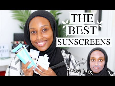 THE BEST SUNSCREENS FOR THE FACE *WOC FRIENDLY* | Aysha Abdul
