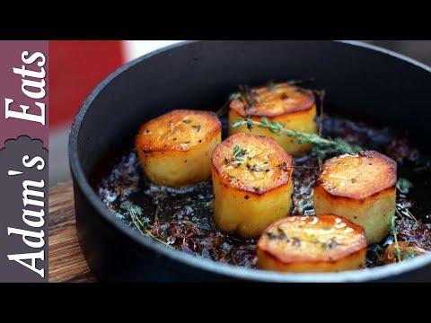 How to make fondant potatoes   Potato recipes