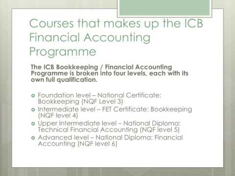 ICB Bookkeeping Courses