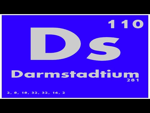 STUDY GUIDE: 110 Darmstadtium | Periodic Table of Elements