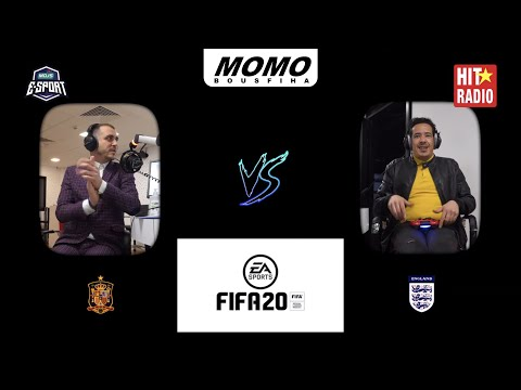 3ich l'game m3a Momo - Angleterre Vs Espagne