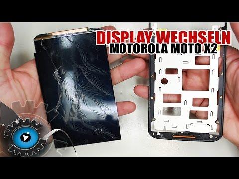 Motorola Moto X 2 Generation Glas Display Wechseln Tauschen Reparieren [Deutsch/German]