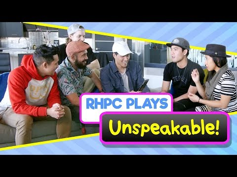 Playing Unspeakable!