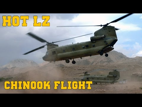 Piloting Chinook on HOT LZ - Arma 3 Coop [1080p]