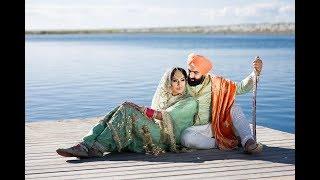 Punjabi Sikh Cinematic Wedding Story Of Sukhdeep & Kuldeep