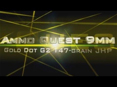 Ammo Quest 9mm: Speer Gold Dot G2 test in 3 barrel lengths