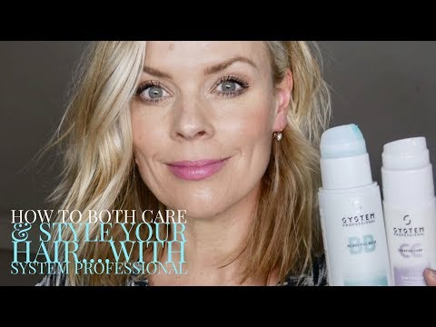How to both care and style your hair… With System Professional