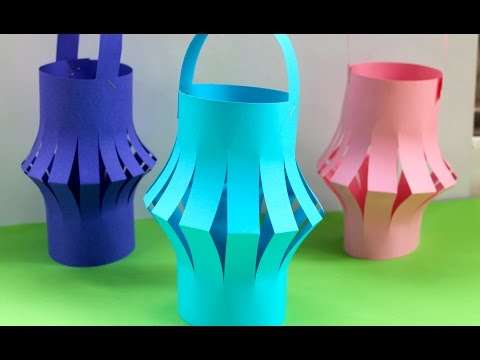 How To Make A Chinese Paper Lantern | Fun Kids Activities