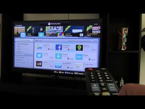 Descargar aplicaciones en Samsung Smart TV