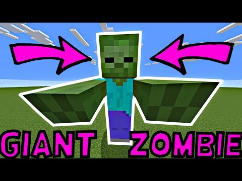 How To Spawn/Summon a Giant Zombie In Minecraft | 1.11.2