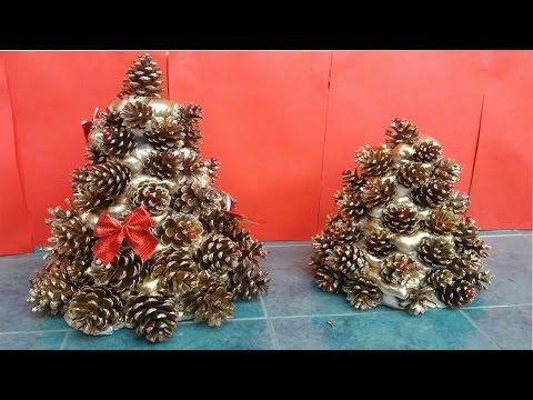 How To Make Pine Cones Christmas Tree