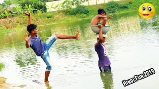 Indian New funny Video😄-😅Hindi Comedy Videos 2019-Episode-53--Indian Fun || ME Tv
