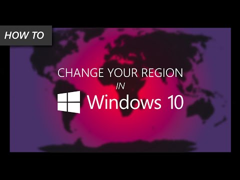How to Change Your Region in Windows 10