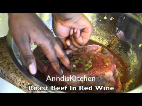 Roast Beef In Red Wine (Tender & Juicy)