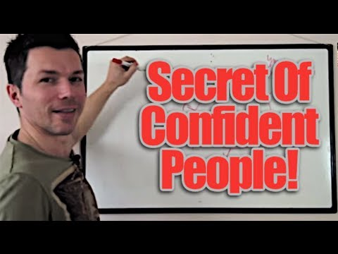 Confidence - The Trick To Build Self Confidence And Self Esteem