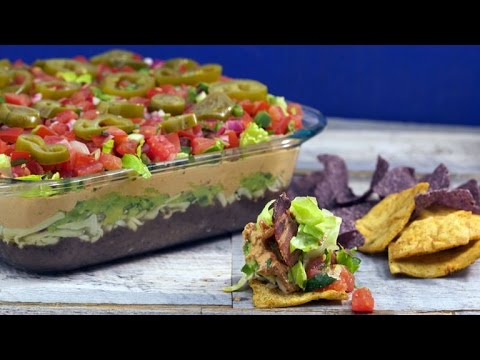 Delicious Dips: Seven-Layer Party Dip | Rachael Ray Show