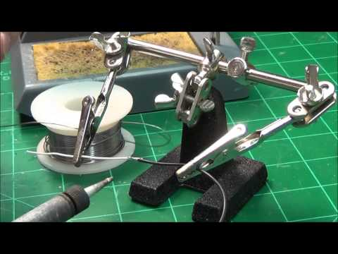 How to Solder Two Small Wires