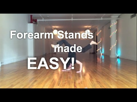 Yoga for Beginners - Forearm Stands Made Easy!