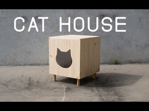 How To Make A Cat House   Woodworking