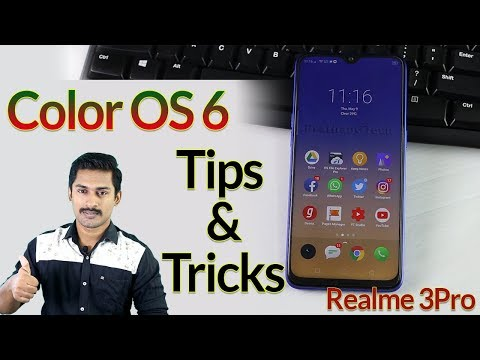 Color OS 6 Tips and tricks Malayalam / Realme3Pro tips and