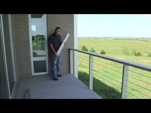Stainless Steel Cable Deck Railing | Mailahn Innovation