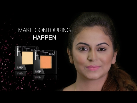 Learn How To Make Your Face Look Slimmer By Maybelline's Professional Artist |  Contouring Makeup