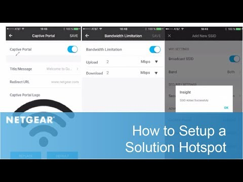 How to Setup a Solution Hotspot | Business
