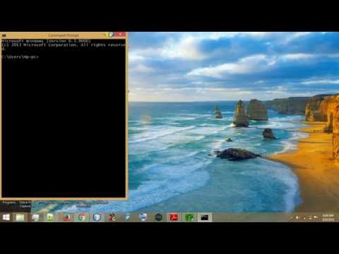 How to use Command Prompt in full screen of Pc (method 1)