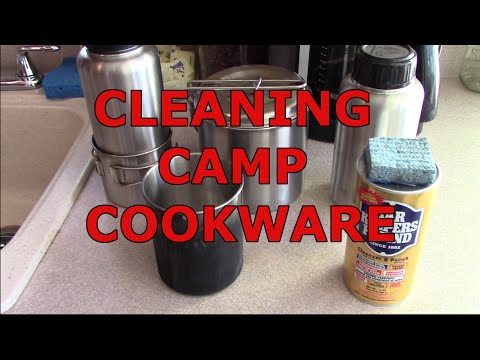 Cleaning Camp Cookware