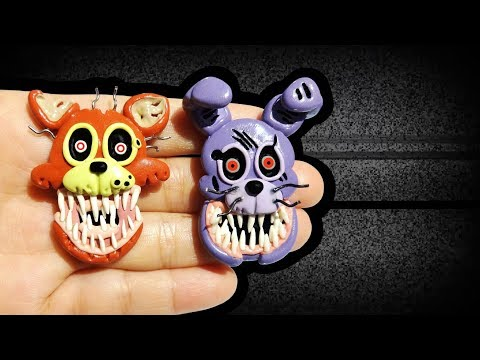 FNAF THE TWISTED ONES! Polymer Clay Tutorial