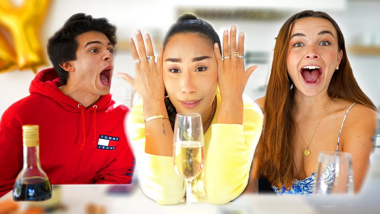 """TRUTH OR DRINK WITH MY EX AND HIS NEW """"GIRLFRIEND"""" 