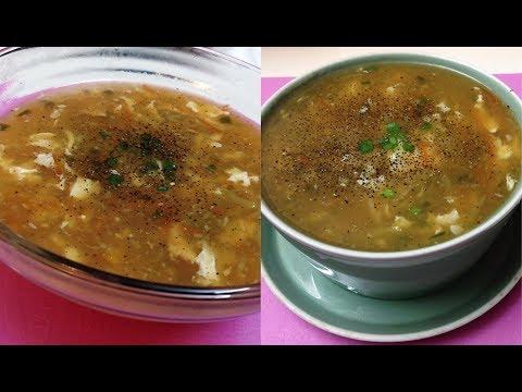 Hot & Sour Soup Restaurant Style | Winter Special Soup