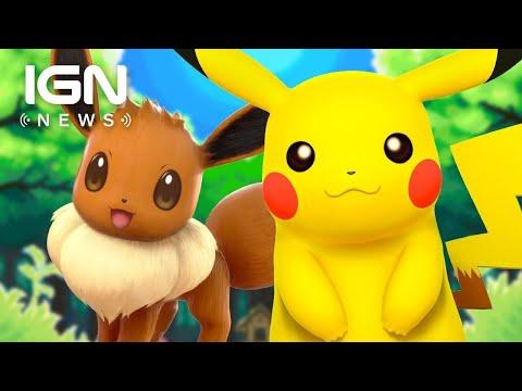 Pokémon: Let's Go Eevee and Pikachu's Poké Ball Plus Accessory Fully Detailed - IGN News