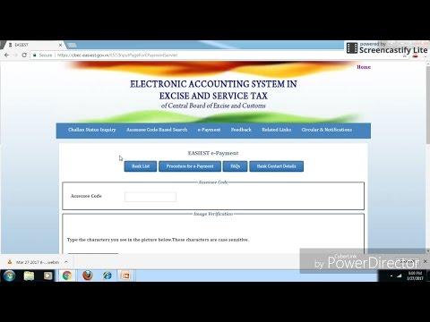 How to Pay Service Tax Challan online, Service Tax कैसें Paid करें