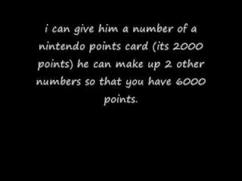 turn 2000 nintendo points into 6000