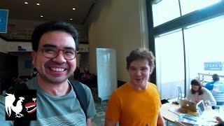 Michael & Gus Experience Zero G VR